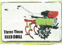 Three Tines Seed Drill