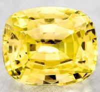 Yellow Sapphire Gemstone -04