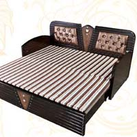 Diwan bed manufacturers suppliers exporters in india for Double bed diwan