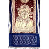 Ikat Hand Painted Dupatta Pd-18