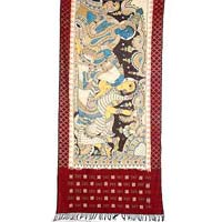 Ikat Hand Painted Dupatta-pd-19