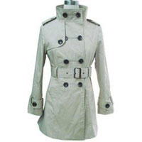 Ladies Woven Long Jackets