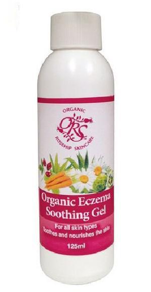 Organic Rosehip Eczema Soothing Gel