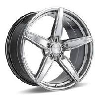 branded alloy wheels and chrome rims for cars in different finishes. such as silver