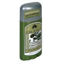 Chamomile Deodorants, Lemon Verbena Organics Stick..
