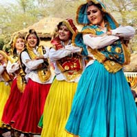 Haryanvi Dance Costumes