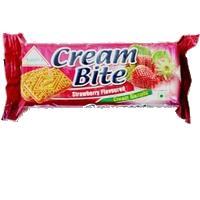 Strawberry Cream Sandwich Biscuits