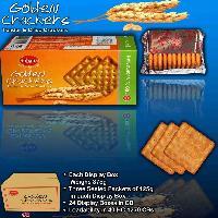 Golden Cream Crackers / Biscuits