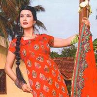 Anuthi Banarasi Silk Dress Material