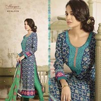 Pure Pashmina Designer Straight Suits