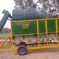 Mobile Potato Grader Machine
