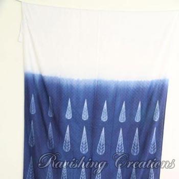 Designer Shibori Cotton Curtains