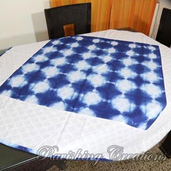 Shibori Cotton Table Linen