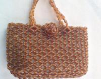 designer designer beaded purse