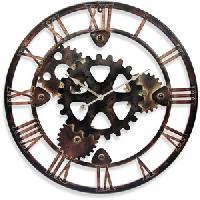 antique metal wall clocks