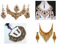 Brass Necklace Costume Jewelry