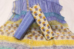 Block Print Cotton Suits