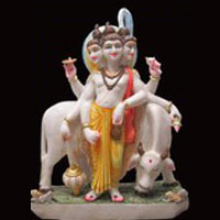 Dutta Bhagwan Statue Iskcon Radha Krishna Statue Marble