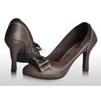 Brown High Heels Sandals