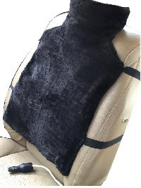 Car Seat Heating Jacket , L size (12 volts operable on car charger poi