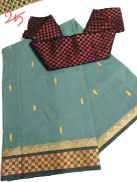 chettinad sarees with brocade blouses