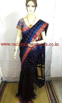Chettinadu checked cotton sarees