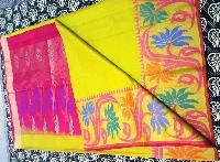 Designer pure soft silk saree sari