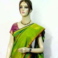 Pure peacock soft silk sarees