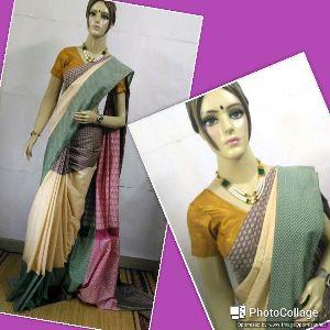 Soft Silk Saree Art