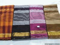 Tissue border Chettinadu cotton