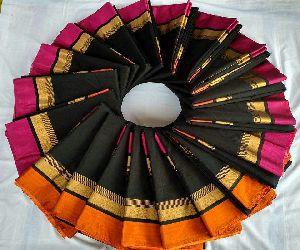 Uniform Cotton Sarees