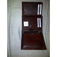 Leather Three Fold Wallets