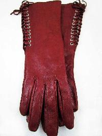 Ladies Leather Fancy Gloves