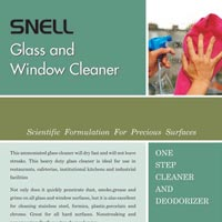 Glass Cleaning Chemicals