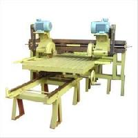 double cutter edge cutting machine