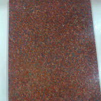 By Red Rough Granite Block