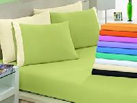 plain dyed bed sheet
