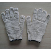 Cotton Seamless Knitted Hand Gloves