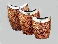 decorative aluminum vase