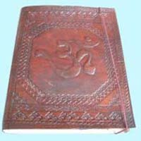 Leather Handmade Engraved Diaries