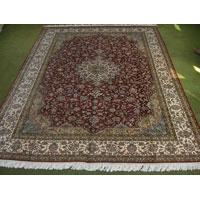 Kashmir Hand Knotted Silk Carpet