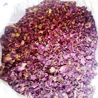 Red Rose Petals Dry