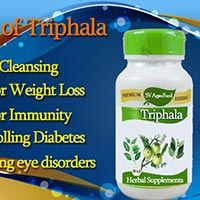 Herbal Supplement, Triphala Capsule from India