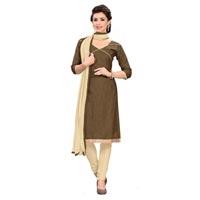 Casual Banarasi Silk Dress Material