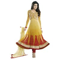 Indian Wear Embroidered Anarkali Suit