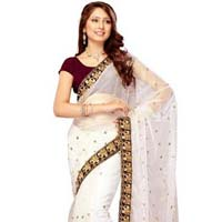 Wedding Wear Net Sarees