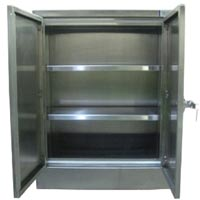 Stainless Steel Modular Double Door Cabinets