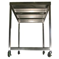 Stainless Steel Table with Casters