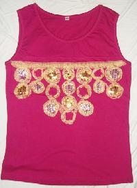 Ladies Vest, Single Jersey