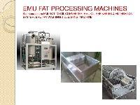 Emu Fat Oil Converter